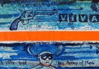 PANCHO VILLA | Ink on alumium | Size: ca. 30 x 15 cm | 2012