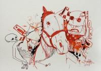 HORSE LATITUDE | Inkjet-Print on Büttenpaper