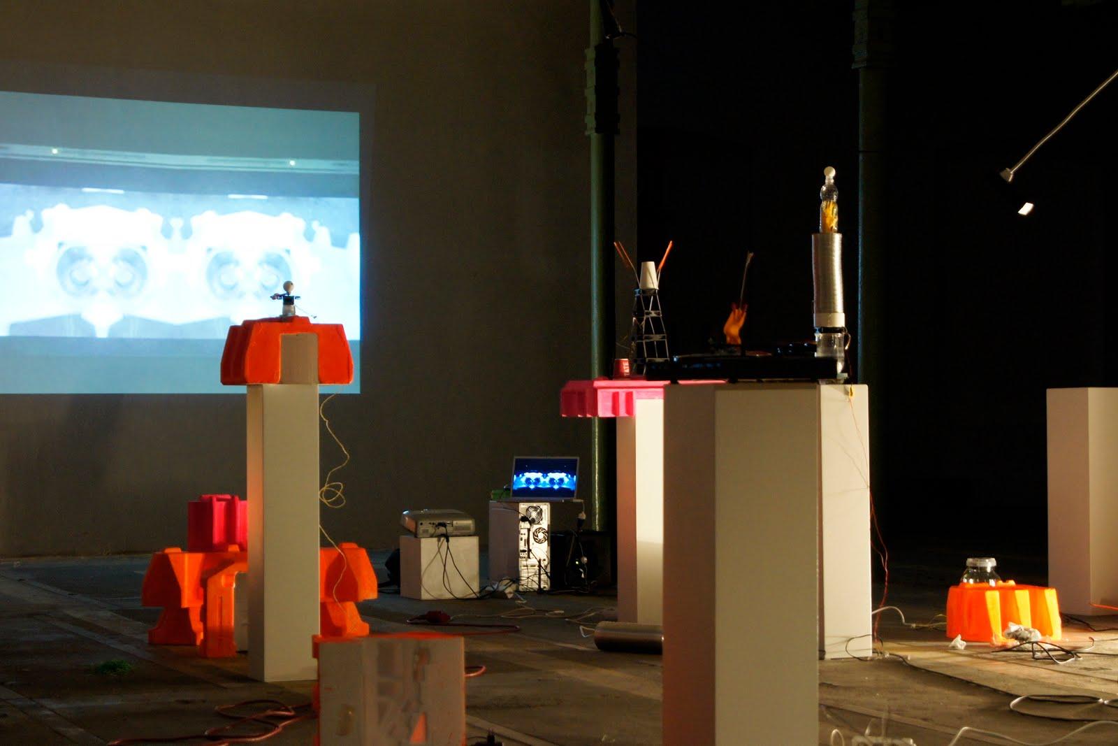 Multimedia Installation Eitorf 2010   © Thomas Steffens 2014