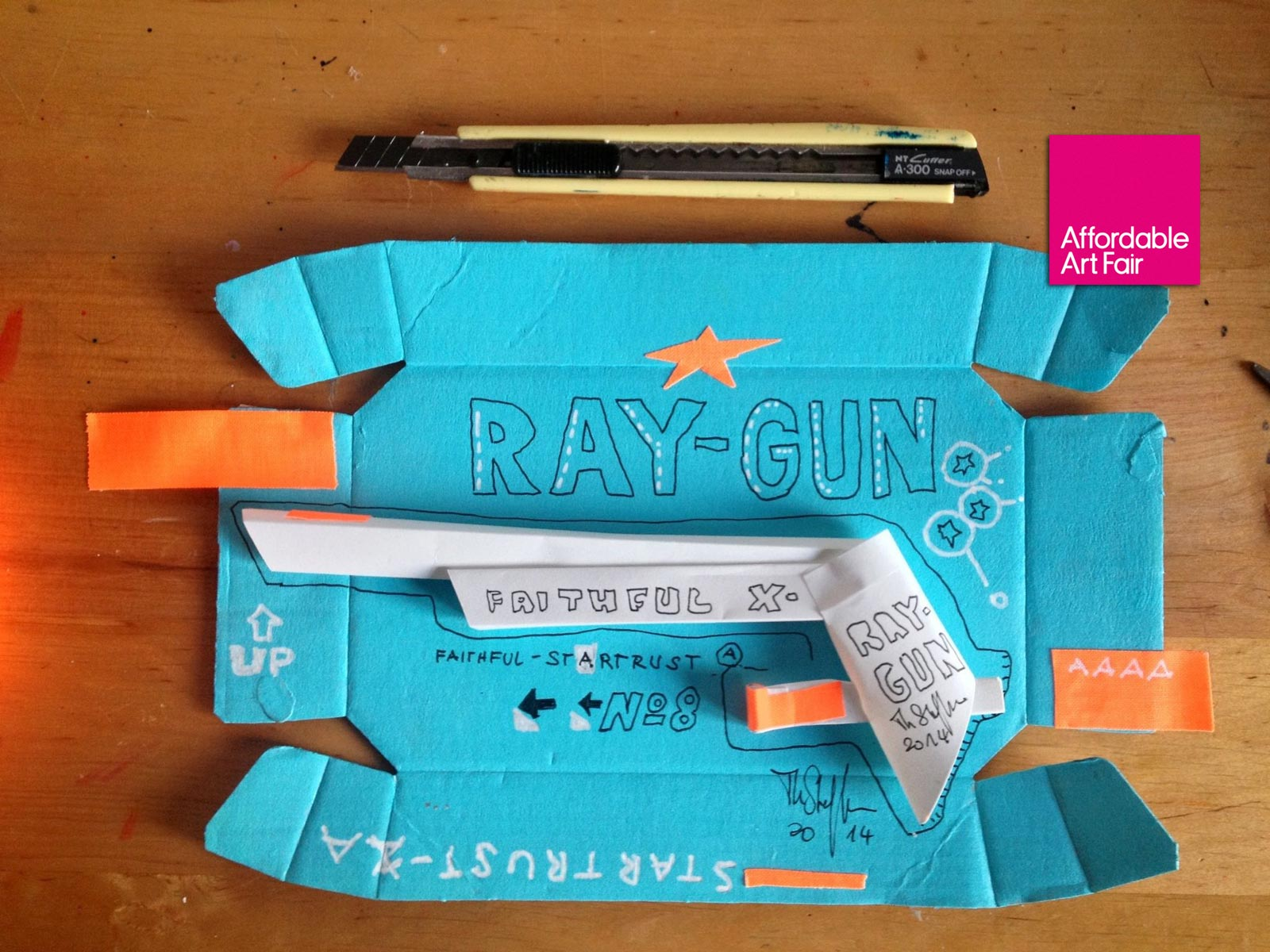Ray-Gun No.8 Thomas Steffens | Affordable Art Fair Hamburg 2014