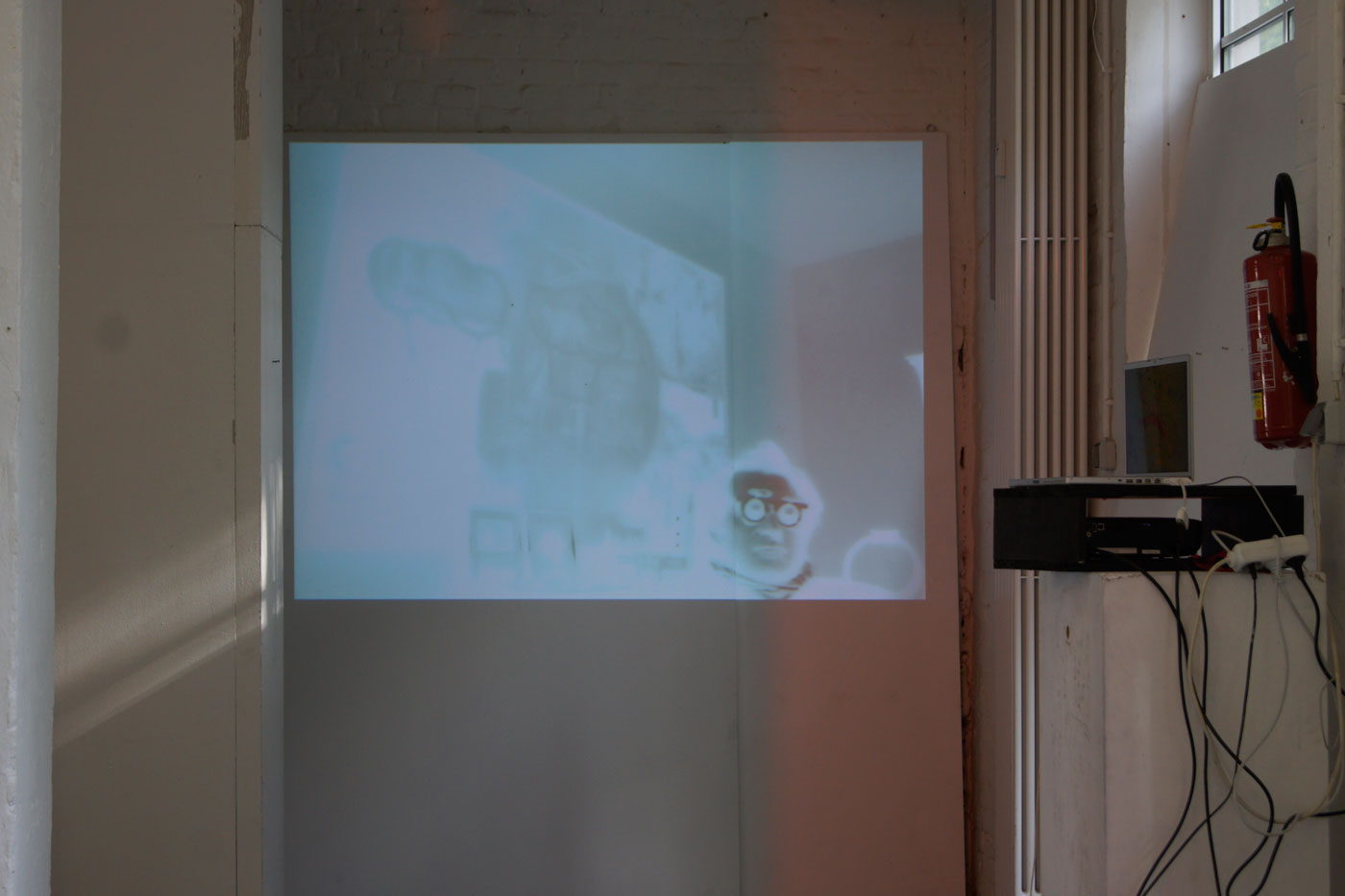 At Rhenania Cologne 2012 Video Installation   © Thomas Steffens 2014