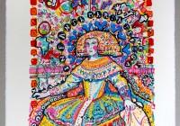 INFANTA MARIA TERESA | 8 colour silk print | Size ca.  58 x 76 cm © Thomas Steffens 2014