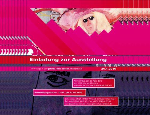 Ausstellung in der Galerie Luzia Sassen | Kabelmetall